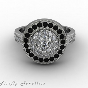 F55D diamond pave engagement ring g1