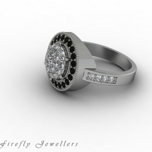 F55D diamond pave engagement ring g3